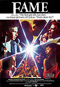 Fame 1980 Movie poster Irene Cara Alan Parker