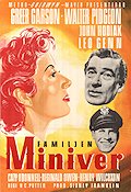 The Miniver Story 1951 Movie poster Greer Garson