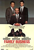 Family Business 1990 Movie poster Sean Connery Sidney Lumet
