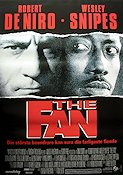 The Fan 1996 poster Robert De Niro