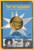 Les aventures de rabbi Jacob 1974 movie poster Louis de Funes Gerard Oury