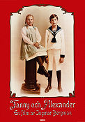 Fanny and Alexander 1982 movie poster Jarl Kulle Ingmar Bergman