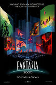 Fantasia 2000 2000 Movie poster Mickey Mouse