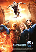 Fantastic 4: Rise of the Silver Surfer 2007 poster Ioan Gruffudd Tim Story