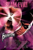 The Phantom 1996 poster Billy Zane Simon Wincer