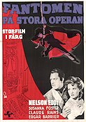 Phantom of the Opera 1943 poster Nelson Eddy Arthur Lubin