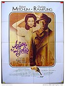 Farewell My Lovely 1975 Movie poster Robert Mitchum