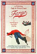 Fargo 1996 poster William H Macy Joel Ethan Coen
