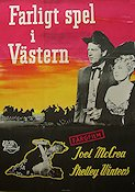 Frenchie 1951 Movie poster Joel McCrea