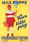 Fars lille p�g 1975 Poster Nils Poppe