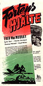 Captain Eddie 1945 Movie poster Fred MacMurray