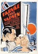 A Farewell to Arms 1932 Movie poster Gary Cooper