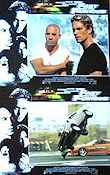 The Fast and the Furious 2001 Lobby card set Paul Walker