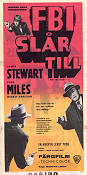 The FBI Story 1959 poster James Stewart Mervyn LeRoy