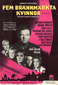 Five Branded Women 1960 Movie poster Silvana Mangano