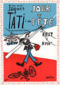 Jour de Fete 1949 poster Guy Decomble Jacques Tati