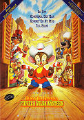 Fievel Goes West 1991 poster Don Bluth