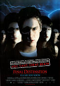 Final Destination 2000 Movie poster Devon Sawa James Wong