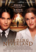 Finding Neverland 2004 Movie poster Johnny Depp