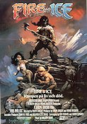 Fire and Ice 1983 poster Ralph Bakshi