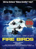 Fire Birds 1990 Movie poster Nicolas Cage