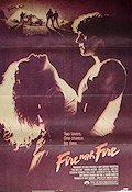 Fire with Fire 1986 poster Craig Sheffer