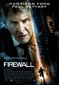 Firewall 2006 Movie poster Harrison Ford