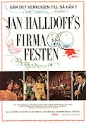 Firmafesten 1972 Movie poster Lars Berghagen Jan Halldoff