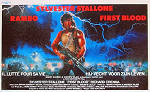 First Blood 1982 Movie poster Sylvester Stallone