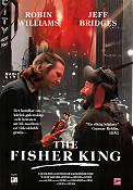 The Fisher King 1991 Movie poster Robin Williams Terry Gilliam