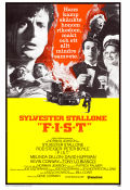 FIST 1978 Movie poster Sylvester Stallone