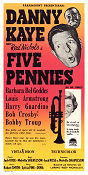 The Five Pennies 1959 poster Danny Kaye Melville Shavelson