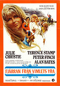 Far From the Maddeing Crowd 1968 Movie poster Julie Christie John Schlesinger