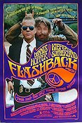 Flashback 1989 Movie poster Dennis Hopper