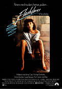 Flashdance 1983 Movie poster Jennifer Beals Adrian Lyne