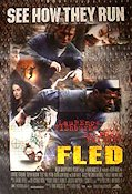 Fled 1996 Movie poster Lawrence Fishburne