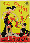 The Girl Said No 1930 Movie poster Leila Hyams