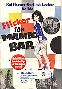 M�dchen f�r die Mambo-Bar 1959 Movie poster Kai Fischer