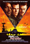Flight of the Intruder 1991 Movie poster Danny Glover John Milius