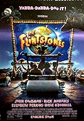 The Flintstones 1993 Movie poster John Goodman