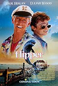 Flipper 1996 Movie poster Elijah Wood