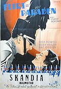 Flirtation Walk 1935 poster Dick Powell
