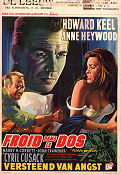 Floods of Fear 1958 poster Howard Keel Charles Crichton