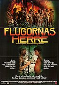 Lord of the Flies 1990 poster Balthazar Getty Harry Hook