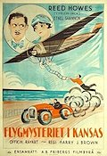 Flygmysteriet i Kansas 1926 Movie poster Reed Howes