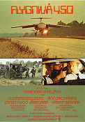 Flygniv� 450 1979 Movie poster Thomas Hellberg Torbj�rn Axelman