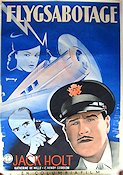 Trapped in the Sky 1940 poster Jack Holt