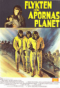Escape From the Planet of the Apes 1971 poster Roddy McDowall Don Taylor