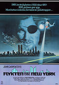 Escape From New York 1981 poster Kurt Russell John Carpenter