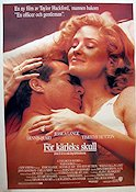 When I Fall in Love 1989 poster Jessica Lange